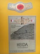 5334- Heida 1987 Visperterminen Aus Dem Höchstenweinberg Europas Du Plus Haut Vignoble D'Europe - Etiquettes