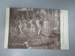 CPA SALON 1914 H.DELACROIX DANSE ANTIQUE  FEMMES NUES - Schilderijen
