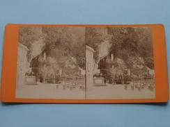 Grotte N.D. De Lourdes () Stereo Photo VIRON Lourdes ( Voir Photo Pour Detail ) ! - Photos Stéréoscopiques