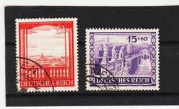EBA635  DEUTSCHES REICH 1941  MICHL 804/05  Used / Gestempelt Siehe ABBILDUNG - Deutschland