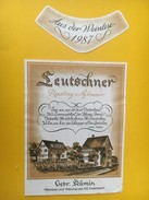5340 - Leutschner Riesling X Sylvaner 1987 Suisse - Art