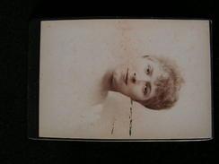 Ancienne Photo Grance Cdv 16,5 Cm Par 10,9 Cm Actrice Comedienne Theatre Jeanne Granier Nadar - Photos