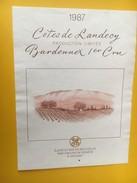 5341 - Côtes De Landecy Bardonnex 1er Cru 1987 Suisse - Art