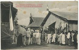 27 AOF Fortier Inauguration Du Chemin De Fer Arrivée à Kouria Konkouré Train - Französisch-Guinea