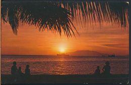 °°° 8702 - PHILIPPINES - GOLDEN SUNSET OF MANILA BAY °°° - Filippine