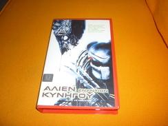 Alien Vs Predator Old Greek Vhs Cassette From Greece - Video Tapes (VHS)