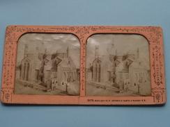 Basilique De St. ANTONIO IL SANTO A PADOUE ( J.A. (Vues D'Italie) 3175 ) Stereo Photo ( Voir Photo Pour Detail ) ! - Photos Stéréoscopiques