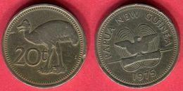 20 CENT    (KM 5) TB  2 - Papuasia Nuova Guinea