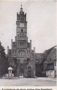 AK Brandenburg Havel - Konsistorium - Umseitig Wittenberg Stadtkirche - 11*7cm (30883) - Orte