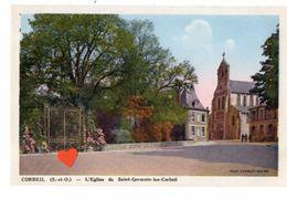 17426-LE-91-CORBEIL-L' Eglise Saint-Germain-les-Corbeil - Corbeil Essonnes
