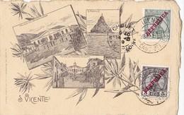 S.VICENTE. - Multivues. Carte Ancienne - Cape Verde