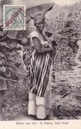 S.VICENTE, Cabo Verde. - Mulher Com Filho. Carte Ancienne - Cape Verde