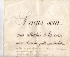 Sépey Le 16ème Avril 1848 / Calmer Les Esprits Et Tensions Internes à La Commune Des Ormonts, Vaud, Suisse - Documents Historiques