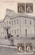 S.VICENTE, Cabo Verde. - Town Hall. Carte Ancienne Pas Courante - Cap Vert