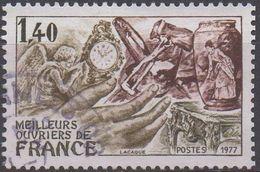 FRANCE    N°1952_ OBL VOIR SCAN - Usados