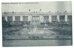 Bruxelles Exposition 1910 Vue Generale Des Bassins - Universal Exhibitions