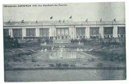 Bruxelles Exposition 1910 Vue Generale Des Bassins - Weltausstellungen