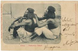Eritrea Pettinatura Habab  Edit Max Hirmer Foto Teneinte Gentile Attilio Bozzi Massaua Coiffeur Hairdresser - Erythrée