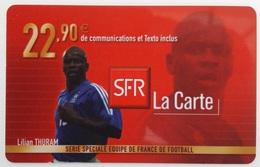 Prépayée SFR France 98  Thuram  Code Gratté - France