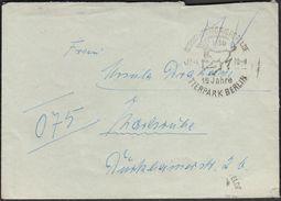 Germany DDR Berlin 1970 / 15 Years Of Berlin ZOO, Tierpark / Deer - Stamps
