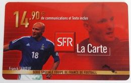 Prépayée SFR France 98  Leboeuf Code Gratté - Cellphone Cards (refills)