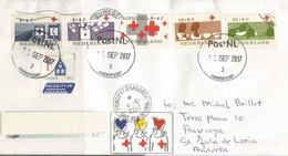 Croix-Rouge Internationale, Lettre D'Amersfoort Aux Pays-Bas, Adressée ANDORRA, Avec Timbre à Date Arrivée - Red Cross