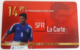 Prépayée SFR France 98  Lizarazu  Code Gratté - France