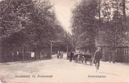 ALTE AK   DYREHAVEN - Klampenborg - Kopenhagen / Dänemark  - Indgang Til ...  - Ca. 1905 - Danimarca