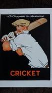 CPSM LA CASQUETTE DU SPORTSMAN CRICKET TRES STYLISE - Cricket