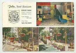 RIMINI  -  HOTEL RISTORANTE JOLIE VIAGGIATA FG - FORMATO CM. 16,5X11,5 - Rimini