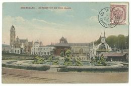 Bruxelles Exposition 1910 Bassins MILITÄRSTEMPEL - Universal Exhibitions
