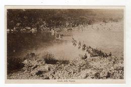 WW1 - LA BATTAGLIA DEL PIAVE Ed.  Bestetti & Tumminelli 1 GUERRA MONDIALE Guado Della Vojussa NON Viaggiata - Guerre 1914-18