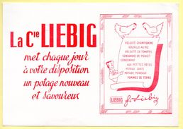 Buvard Liebig, Chaque Jour Un Potage Nouveau Et Savoureux. - Soups & Sauces