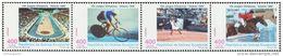 DB0572 Equatorial Guinea 1996 Olympic Tennis Horse Racing Bike 4v MNH - Guinea Equatoriale