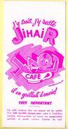 Buvard Café Jihair. - Café & Thé