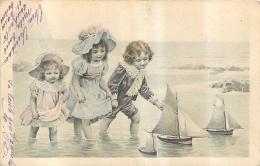ILLUSTRATEUR ENFANTS BORD DE MER ET PETITS BATEAUX - Illustrateurs & Photographes