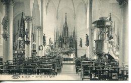 N°56563 -cpa Rièzes -intérieur De L'église- - Belgique