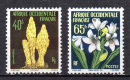 Col 5 / AOF Afrique  N° 71 & 72 Neuf XX MNH Cote : 7,00 € - A.O.F. (1934-1959)