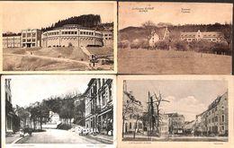 Eupen - Lot 4 Cartes (animée, Tram, Tramway, Haasstrasse, Caserne) - Eupen