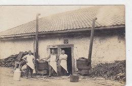Militär-Küche - Schöne Original-Photokarte   (P-90-40119) - Matériel