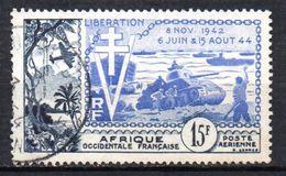 Col 5 / AOF Afrique PA N° 17 Oblitéré Cote : 6,00 € - A.O.F. (1934-1959)