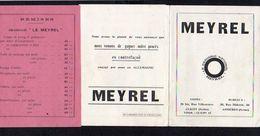 """1930 Env.Dépliant Matériel Graissage Pour Automobiles..... """"MEYREL"""" à Clichy Et Asnières - Francia"""