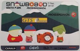 Télécarte  Prépayée GTS Omnicom PR39  South Park Rossignol 2  Code Non Gratté - Prepaid-Telefonkarten: Andere