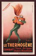 BUVARD  --  LE  THERMOGÈNE - Combat : Toux, Grippe, Douleurs Rhumatismales  - Voir Les 2 Scannes - Produits Pharmaceutiques