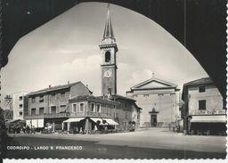 ITALIE CODROIPO LARGO S FRANCESCO ANNEE 1950 NEUVE - Italy