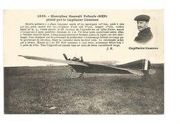 LE MONOPLAN ESNAULT PELTERIE PILOTE PAR LE CAPITAINE CAMINES - ....-1914: Precursors