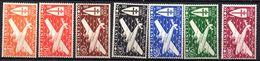 Col 5 / Cote Des Somalis PA N° 1 à 7 Neuf  XX MNH Cote : 20,00 € - Côte Française Des Somalis (1894-1967)
