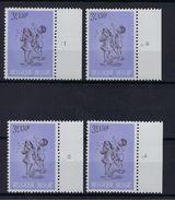 N°1401 (plaatnummer Set) MNH ** POSTFRIS ZONDER SCHARNIER SUPERBE - Plaatnummers