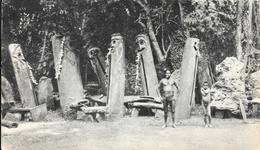 Dans Le Sillage De Bougainville VI - Nouvelles-Hébrides (Vanuatu), Les Tabous - Publicité Laboratoires La Biomarine - Océanie