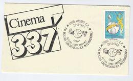 1986 VITERBO International CINEMATOGRAPHY  EVENT COVER Italy Stamps Movie Cinema Film - Cinema